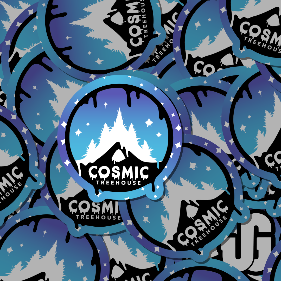 Die Cut Stickers for Cosmic Treehouse