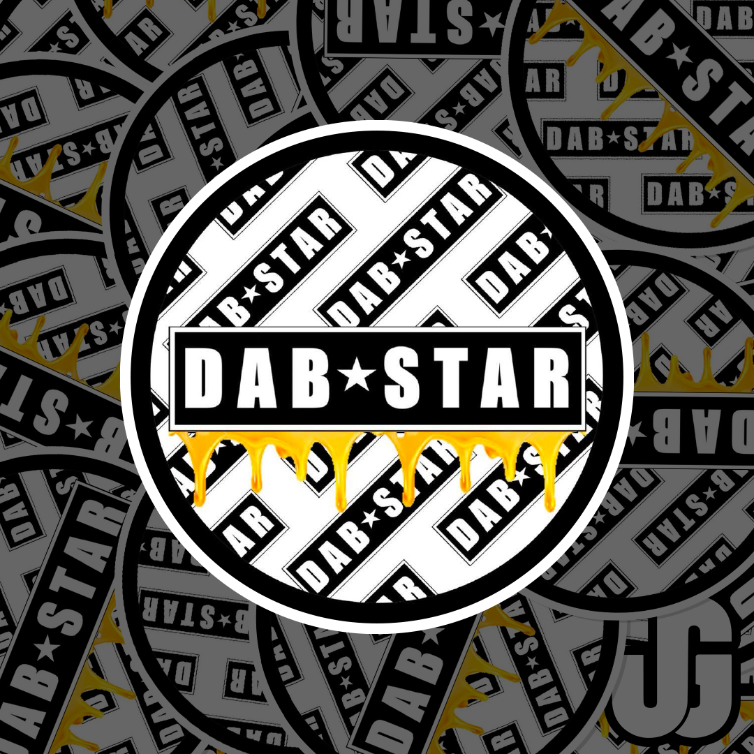 Die Cut Stickers for DabStars