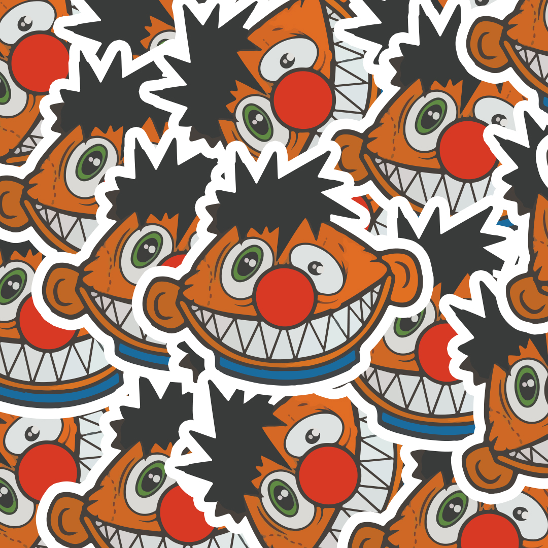 Die Cut Stickers for Darby Krow
