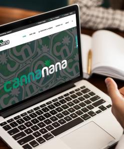 Website design for CannaNanaCBD.com