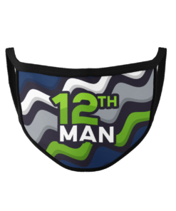 12th Man Polyester Face Mask by URGrafix